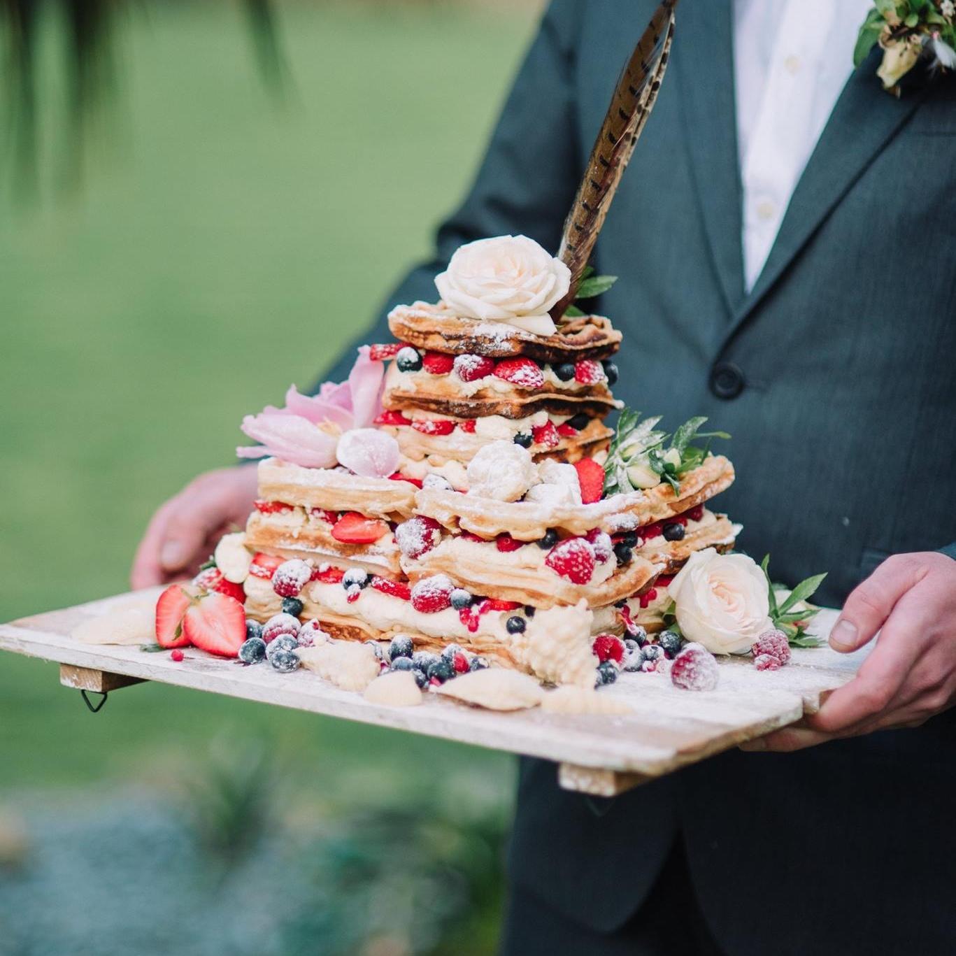 ALTERNATIVE DESSERT INSPIRATION  Doughnuts, waffles or Kransekake? A selection of unique alternatives to cake.