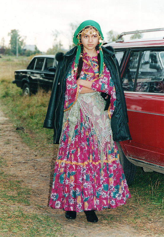 Русалина Полякова в костюме кэлдэрарки