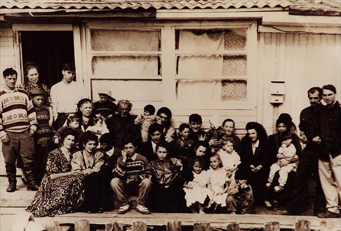 Семья родителей Евгении Поляковой.Русские цыгане, Великий Устюг