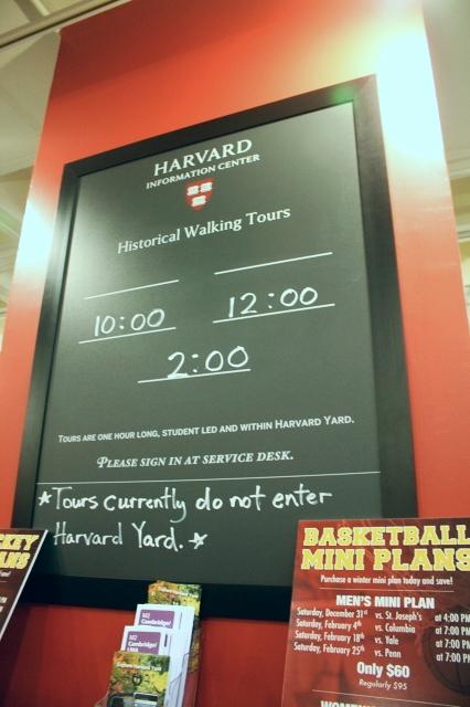 Harvard Information Center