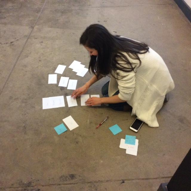 Sophie Card Sorting