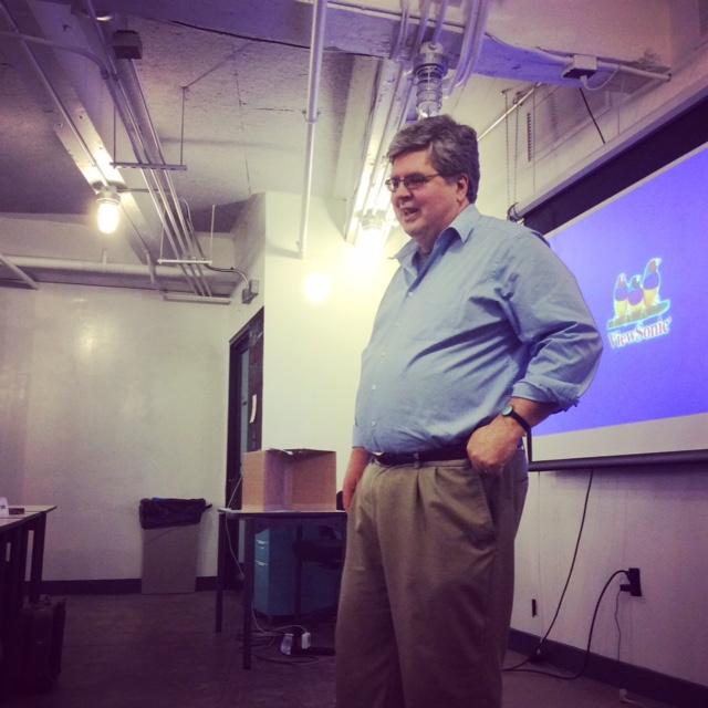 Steve Krug sharing his wisdom