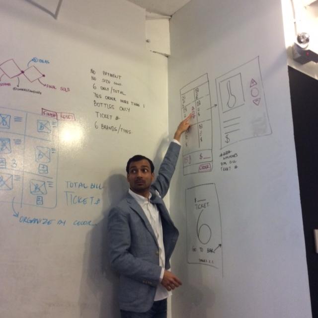 Instructor Prashant inspiring students