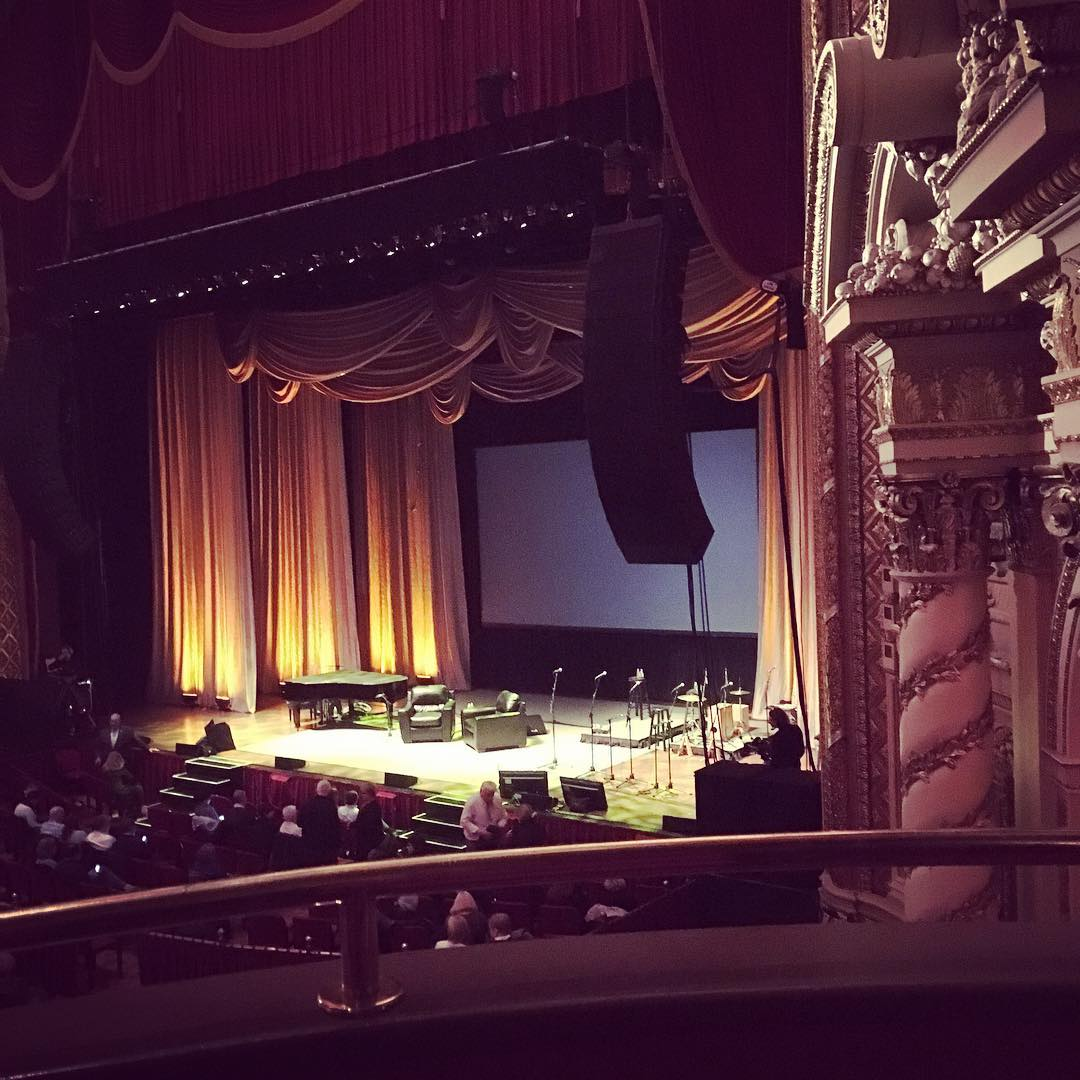Getting excited to see #stevemartin & #martinshort I need a laugh 😩 thank you @kikigoulet  (at Wang Theater Boston Massachusetts)