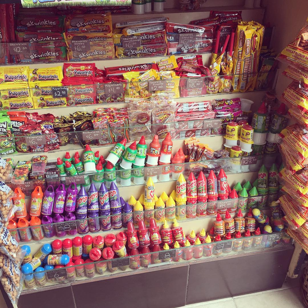 All the chili candy!! 🌶🍭 (at Comercial Mexicana Interlomas)