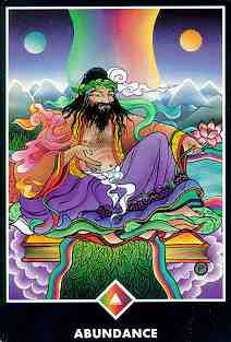 I love this card from the Osho Zen Tarot Deck. It demonstrated the energy of late summer beautifully!