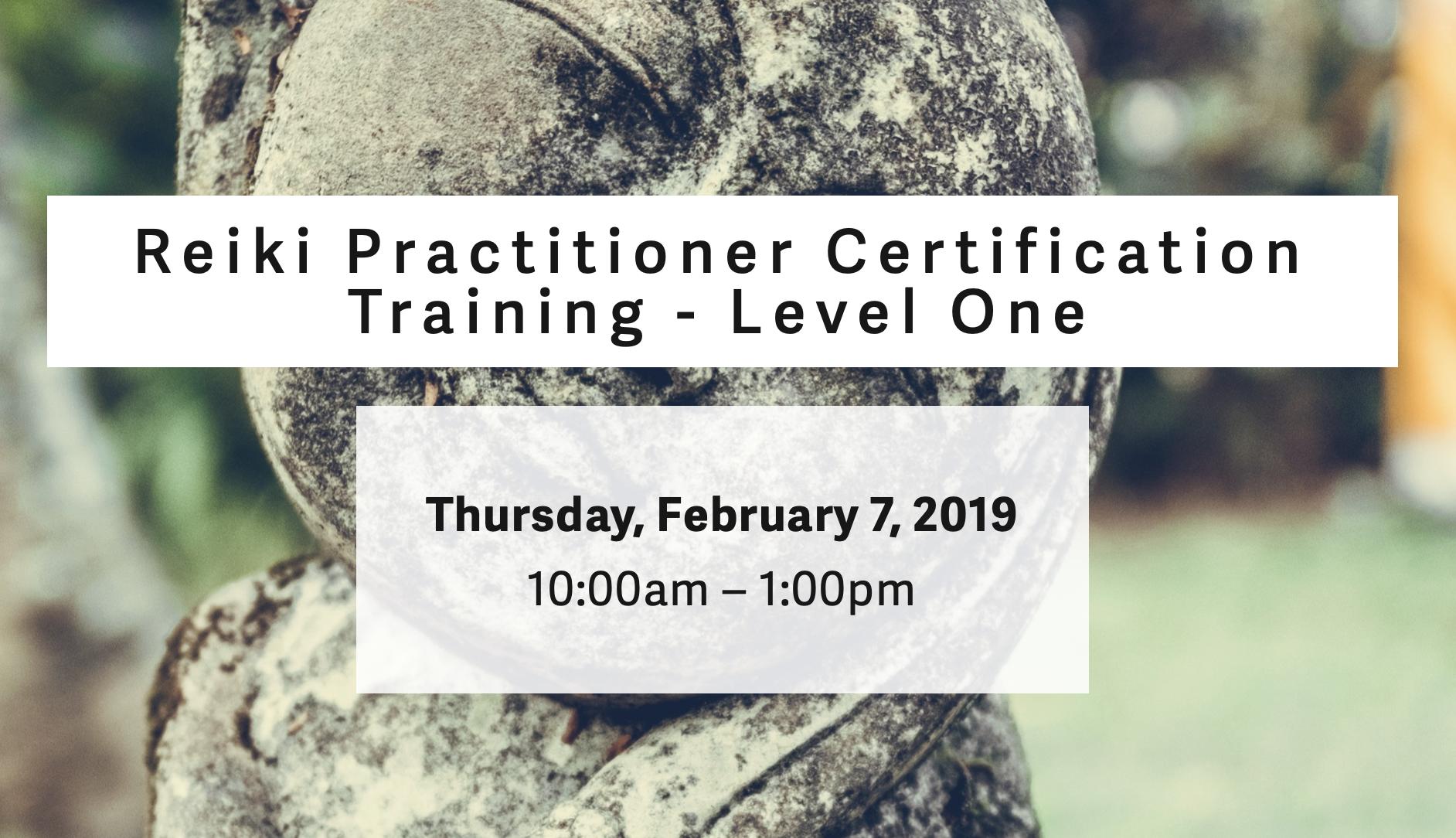 Reiki practitioner training philadelphia