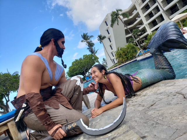 Costumes are enthusiastically encouraged at hawaiicon events