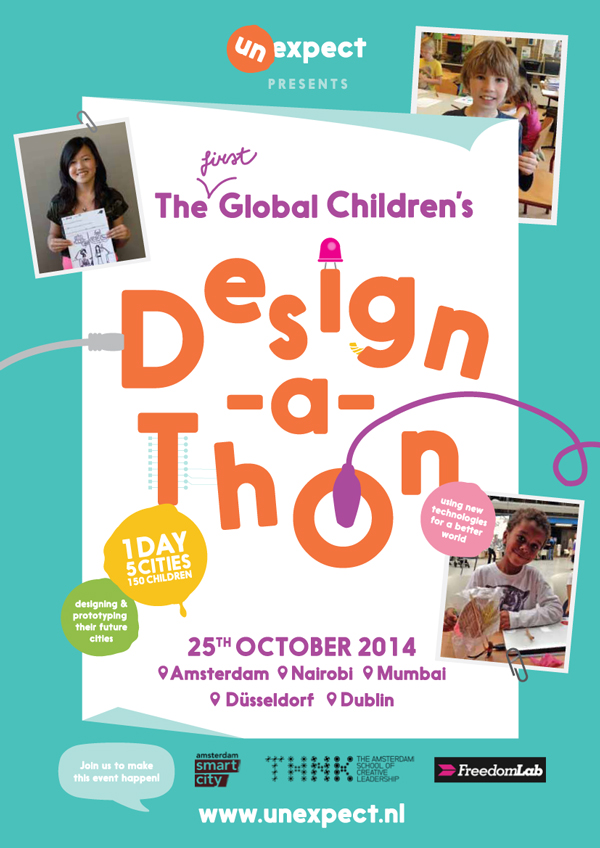 The Global Children's Design-A-Thon (design by The Brandling)