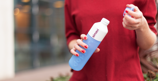 Dopper water bottles make for great brand visibility and support sustainable habits.