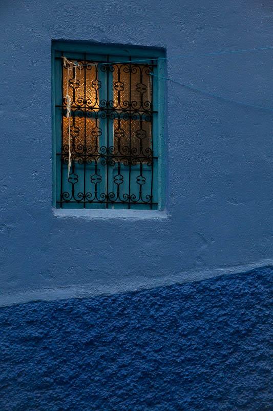 Chefchaouen window, Morocco