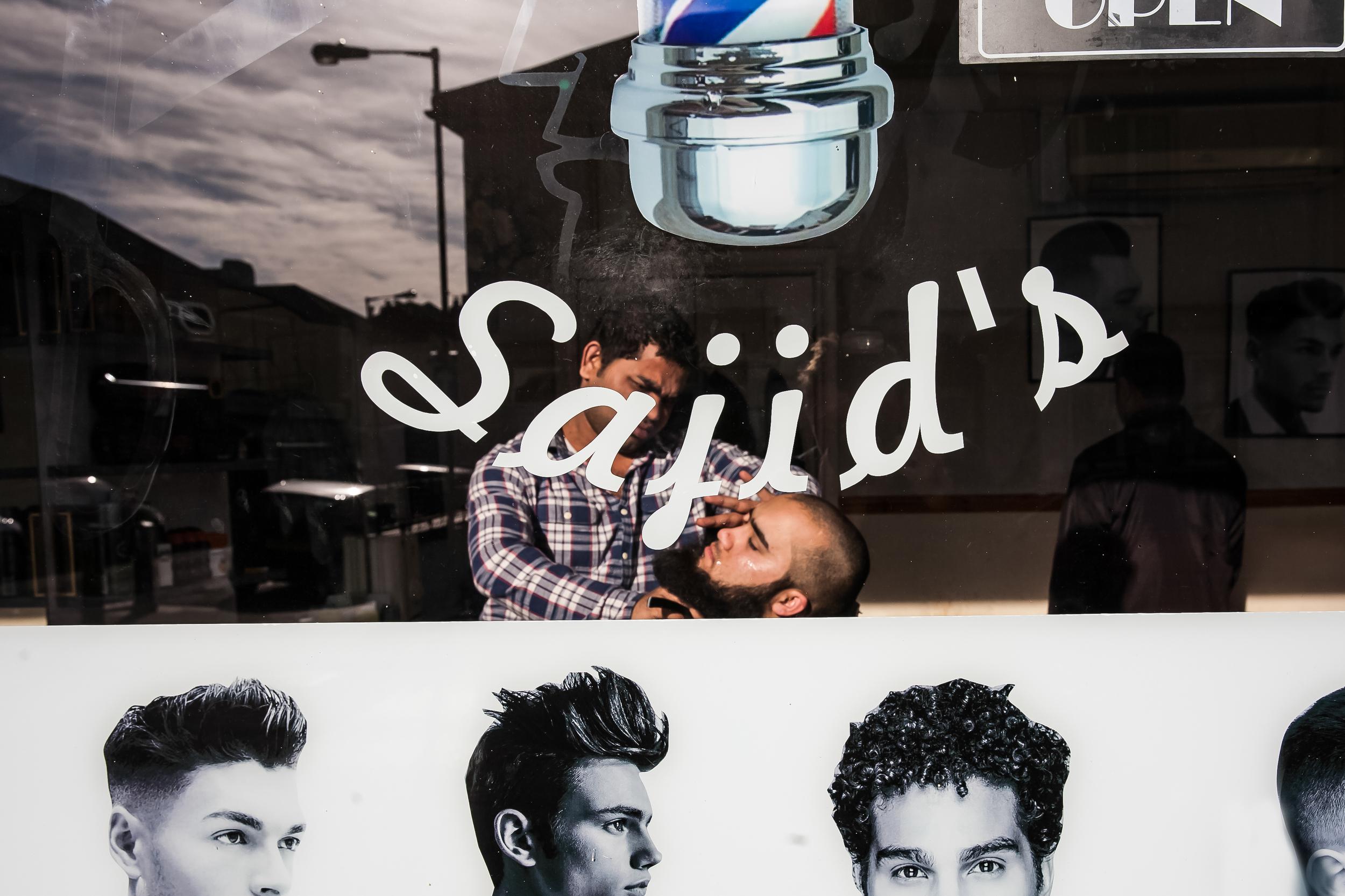 Sajid's, Easton, Barber Shop Photo Essay for   Bristol 24/7 Magazine .