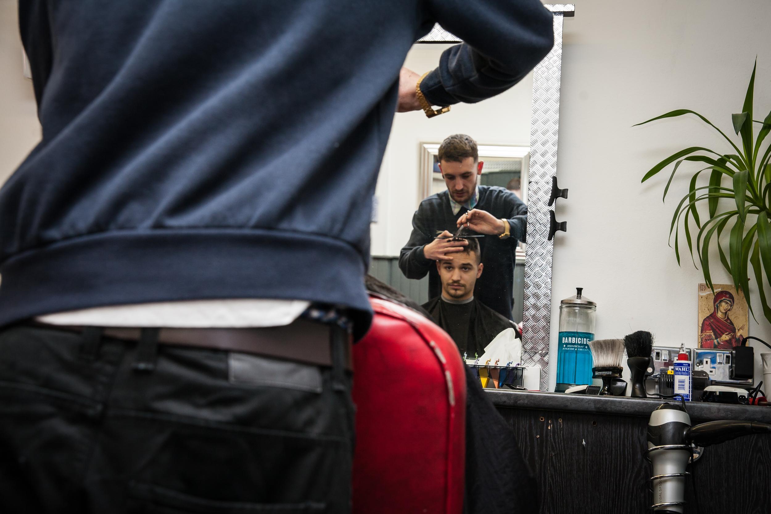 The Barber Shop, Gloucester Road, Barber Shop Photo Essay for   Bristol 24/7 Magazine .