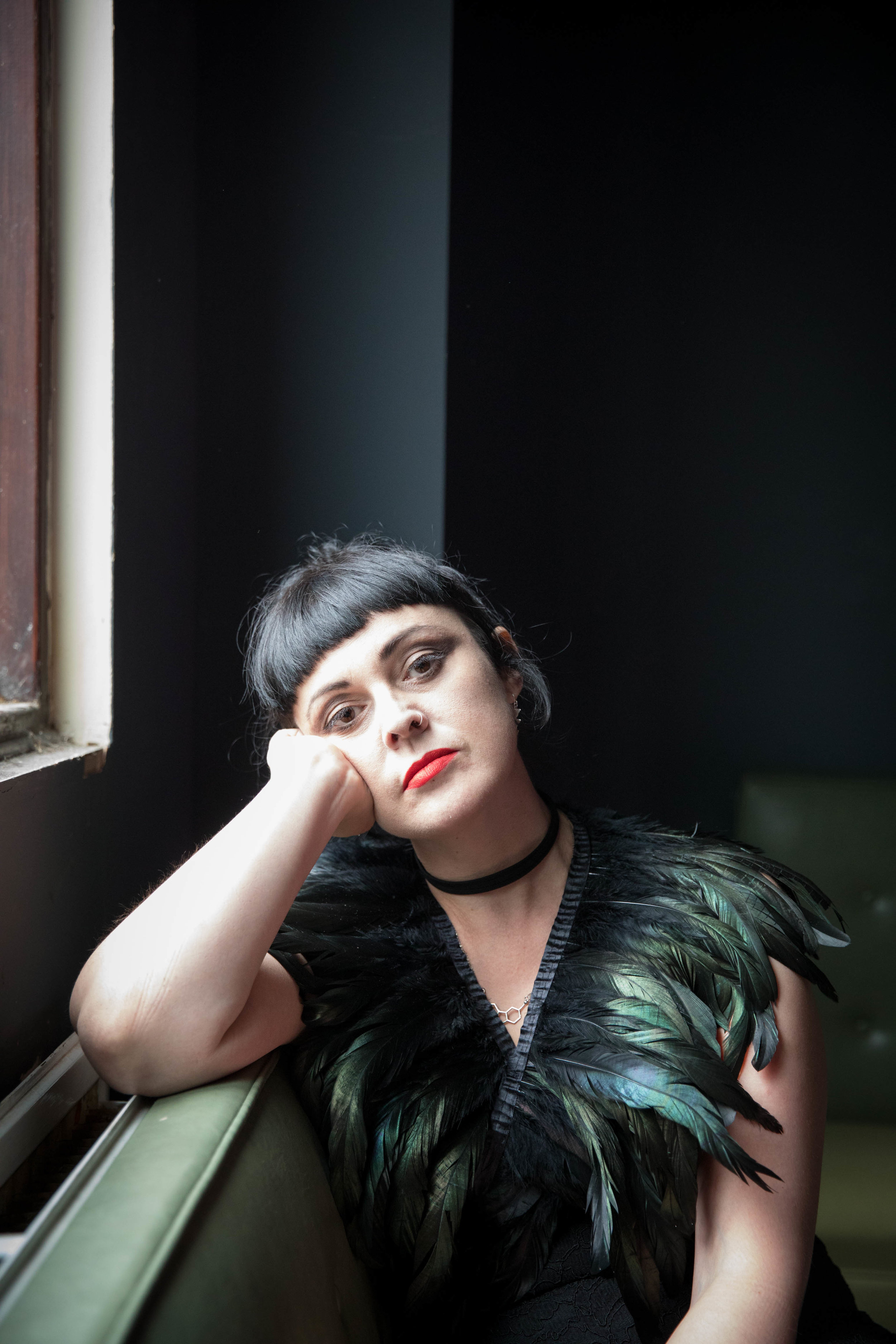 Promotional shot for singer and musician Maria Owen