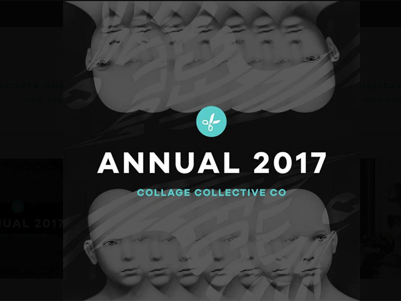 Collage collective co. annual 2017