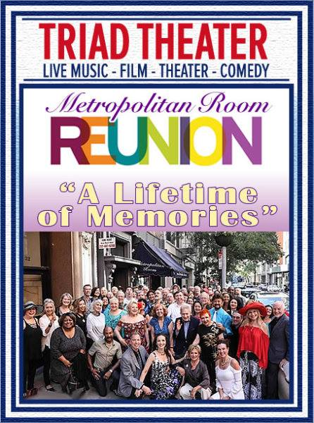 The Metropolitan Room, a legendary Cabaret room in the Flatiron District that closed its doors in 2017 has hosted over 10,000 shows and half a million guests in its lifetime and left in its wake thousands of launched careers and many more new friendships. Join Bernie and Joanne as they talk about some very special moments and entertain you with some of the finest talents that graced its stage. Featuring:    Julie Budd   , Charlie Romo,    Minda Larsen   ,    Eddie Sarfaty   ,    Bobbie Horowitz   ,    Tom Gamblin   , Analisa Bell,    Joshua J. Bennett   ,    Shawn Moninger   ,    JayCee Driesen Jill Wasserman   ,    Mark McCombs   ,    Suzanna Ross       Jim Brochu   ,    Dorothy Bishop   ,    Richard Pryor Jr.   ,    Oleg Frish   ,    Sara Zahn   ,    Ronald Dabney    &    Bob Greenberg   . The    Howie Gordon    Trio, with Howie Gordon on Drums, Gregory Toroian on Piano, Boots Maleson on Bass.