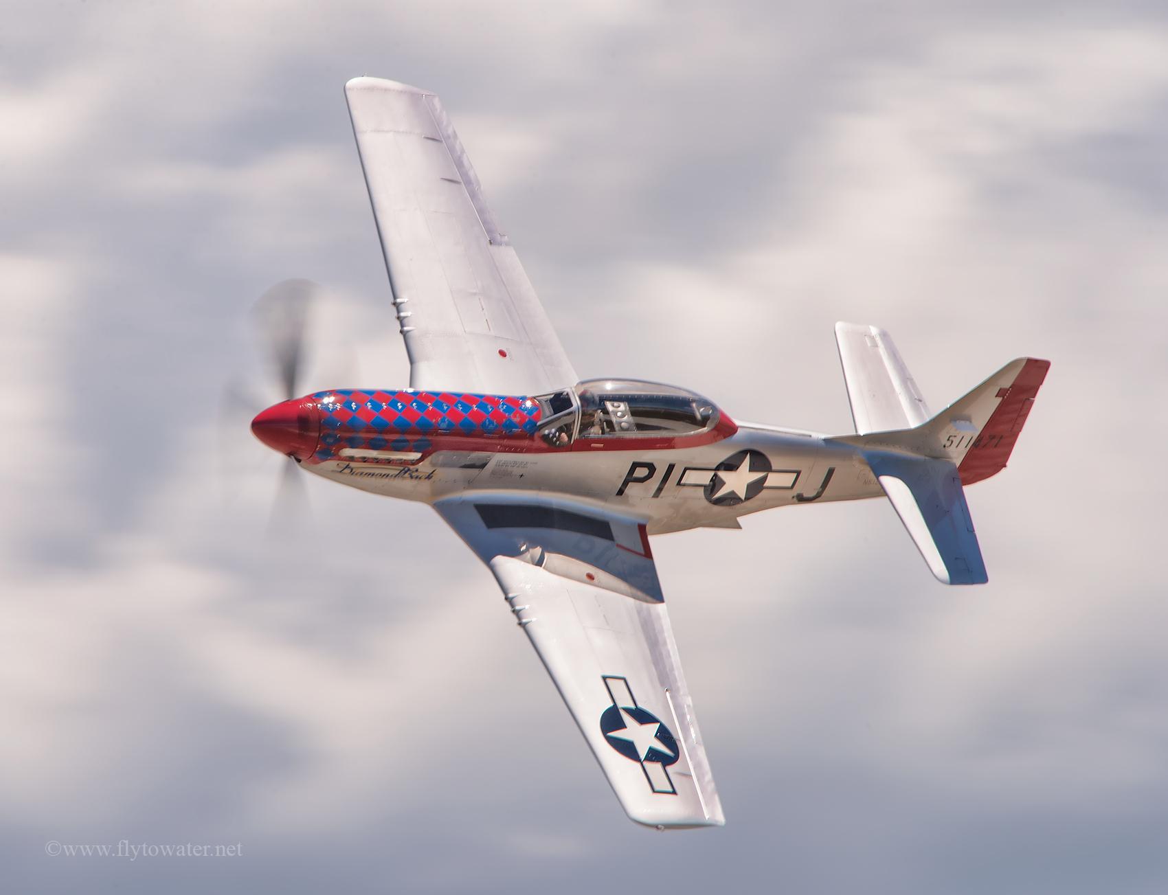 """Survivor TF-51D Mustang """"Diamondback""""  1/60th, f/16, ISO 200"""