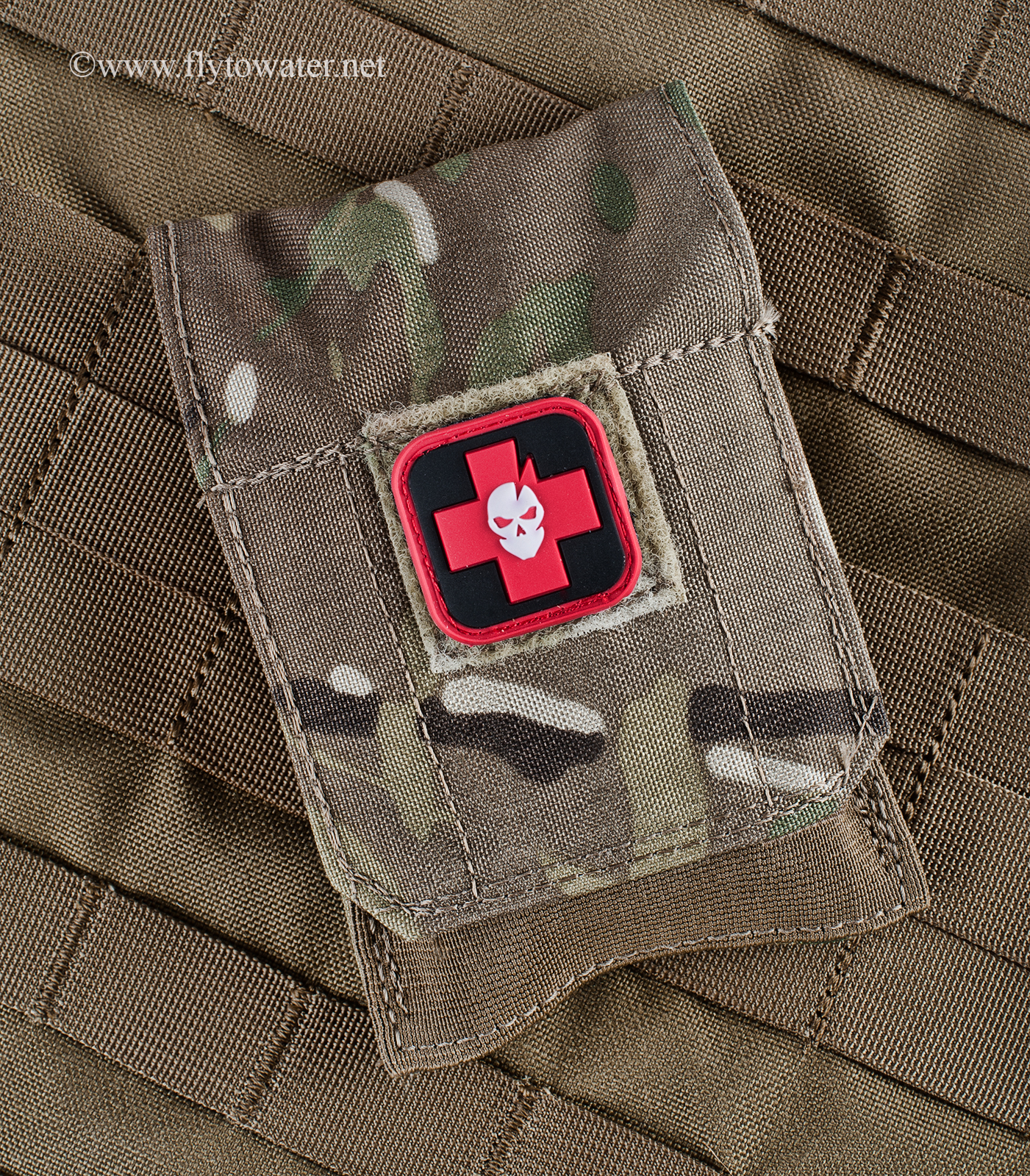 ITS Tactical EDC Slimline Pouch with SOF Tactical Tourniquet Inside (SOFTT-W)