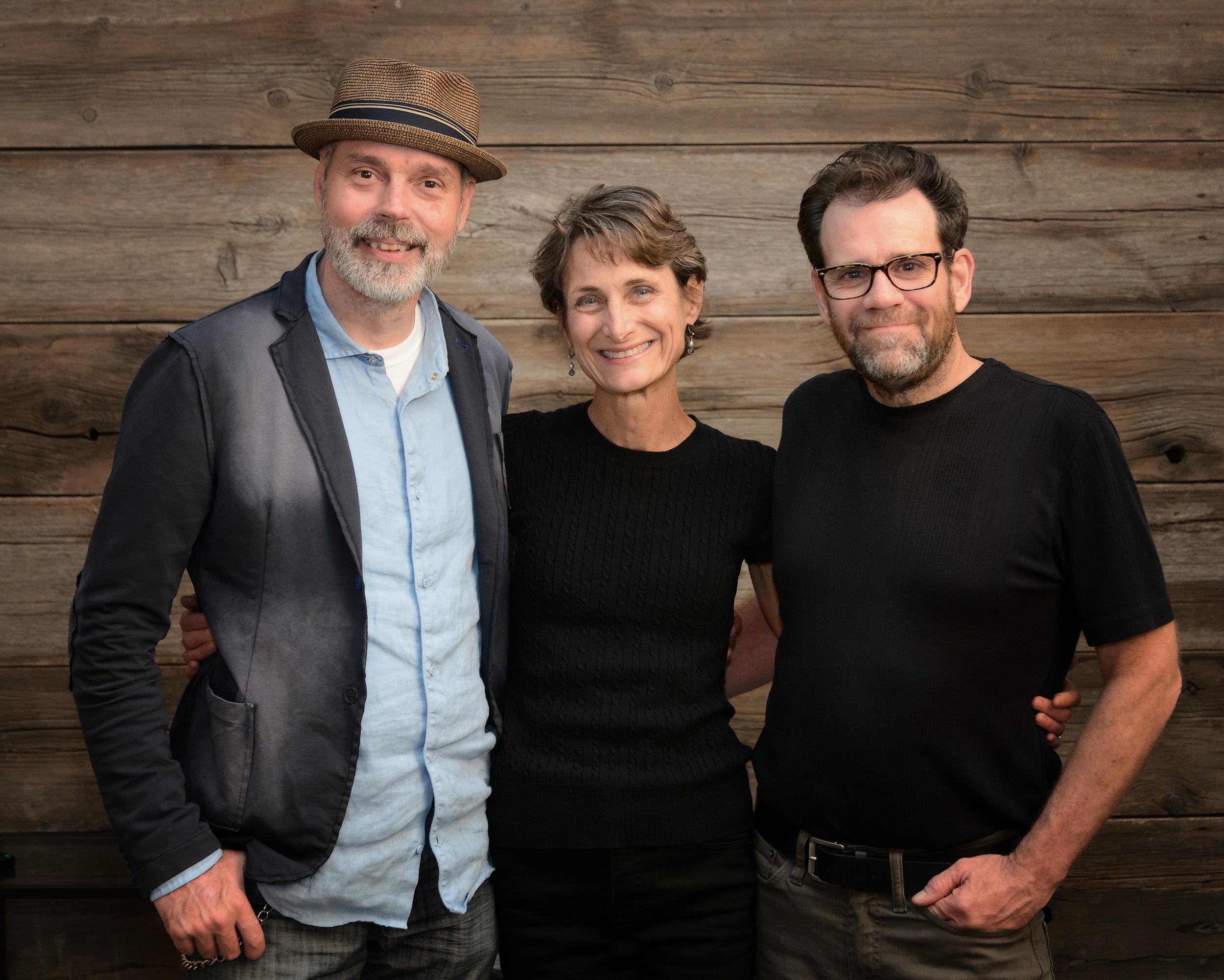 Authors Michael Karns, Lisa Golden Schroeder, and Dennis Becker (photo by Craig Mullenbach)