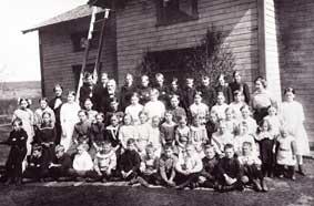 Elever Sörfors skola 1914