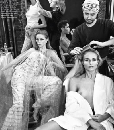 Vogue Paris June/July 2016 Photo by Inez and Vinoodh
