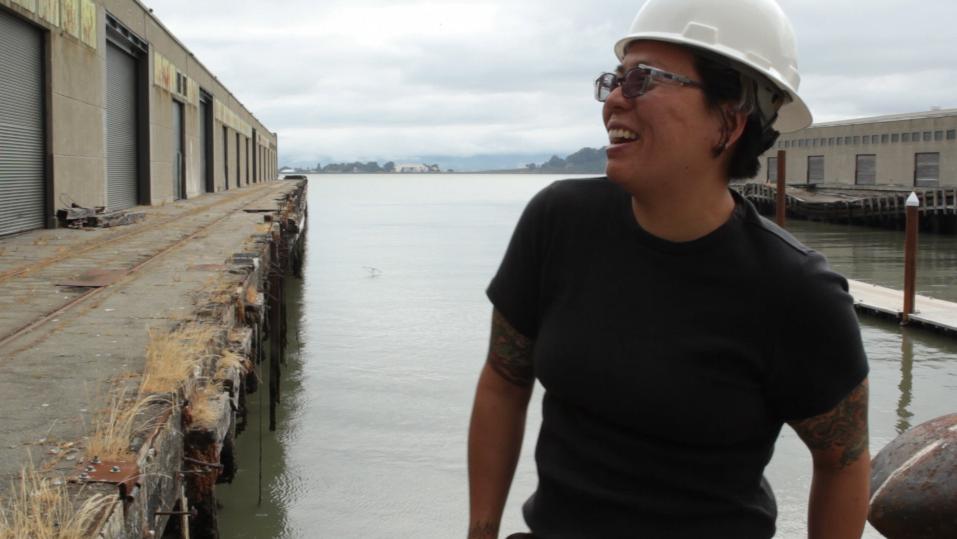 Jeanne Park, Ironworker, San Francisco, CA.