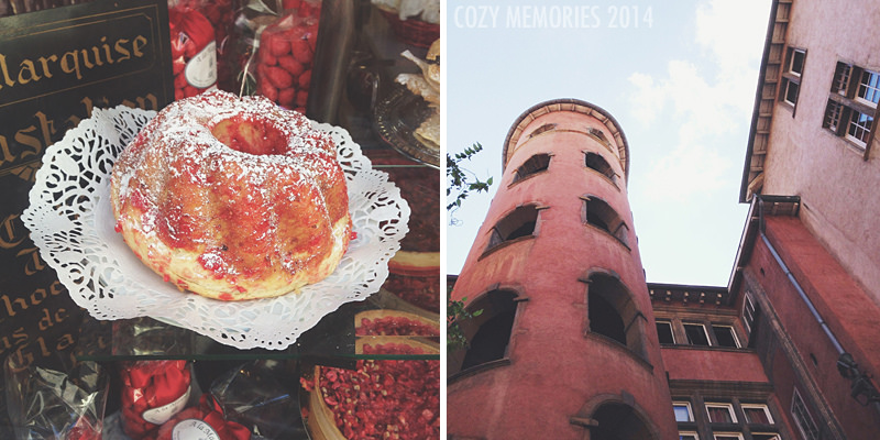 Pralines in every possible form / Vieux Lyon (old town)