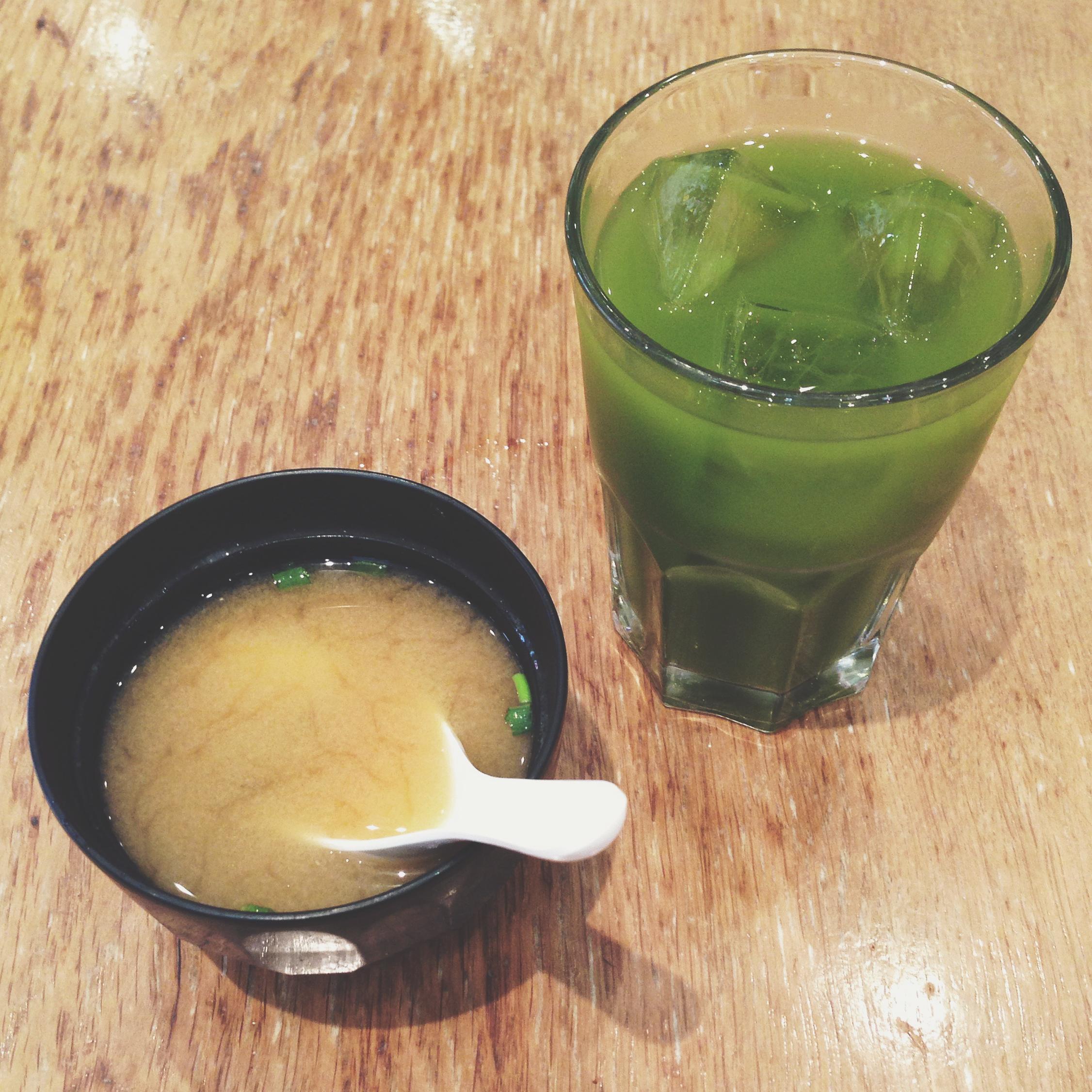 Eating at Kadoya (Japanese) restaurant
