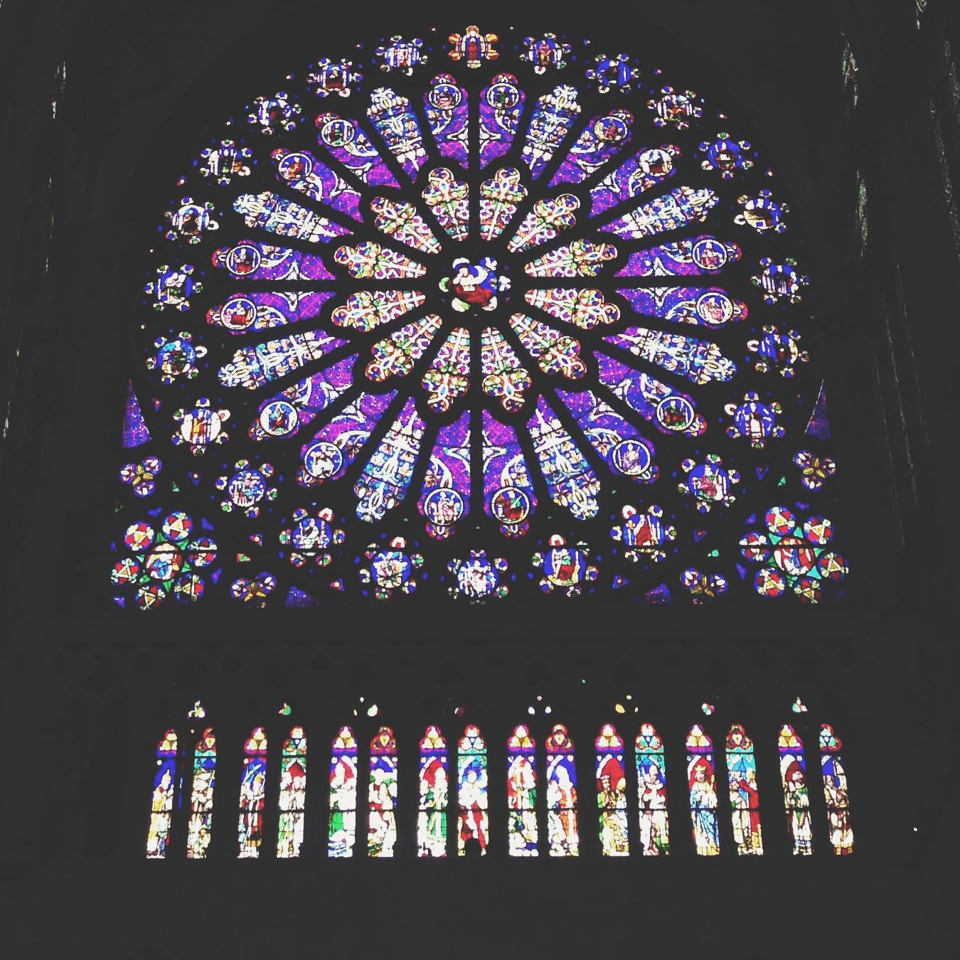 Basilica of Saint Denis (technically not inside Paris)