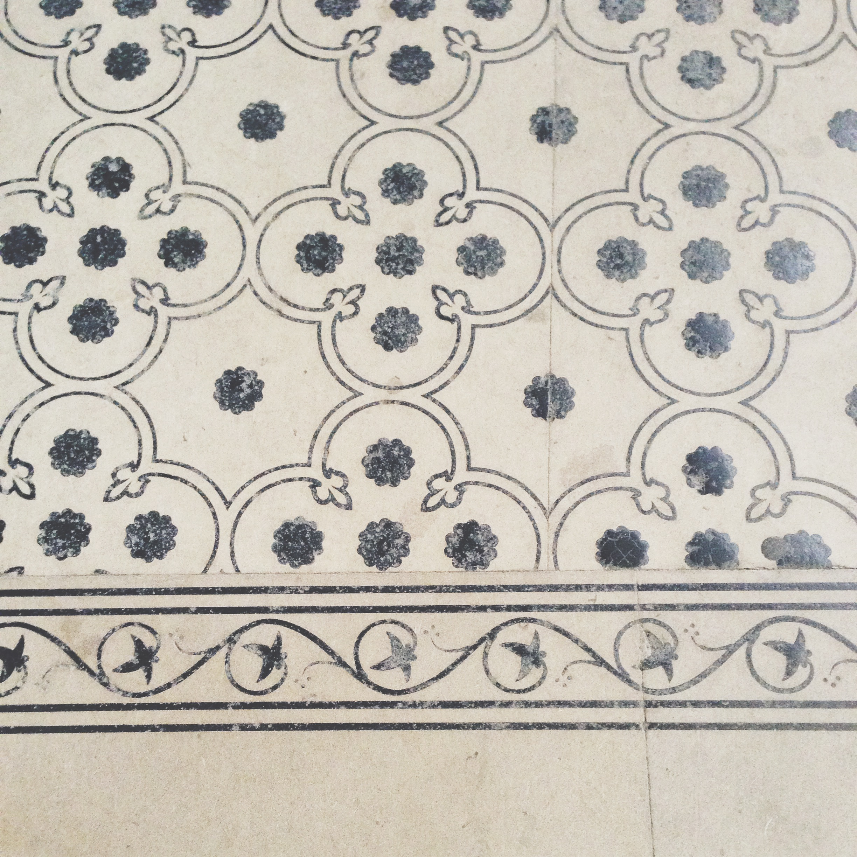 Floors in the Basilica of Saint Denis