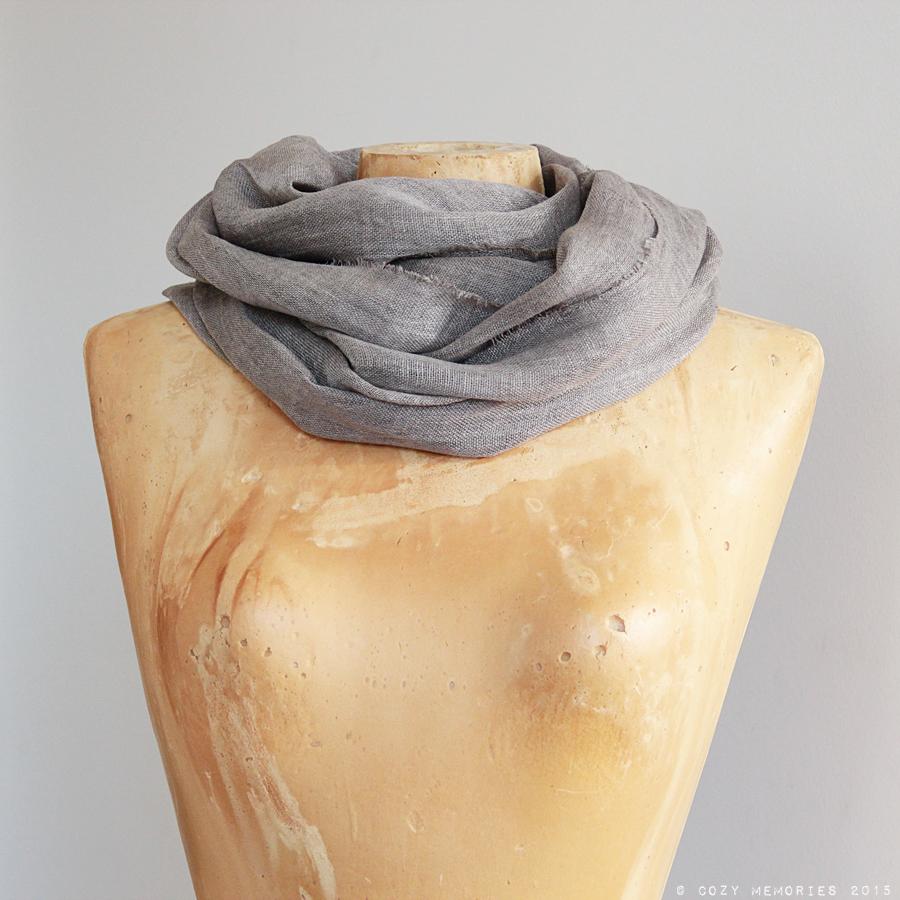 linen voile scarf