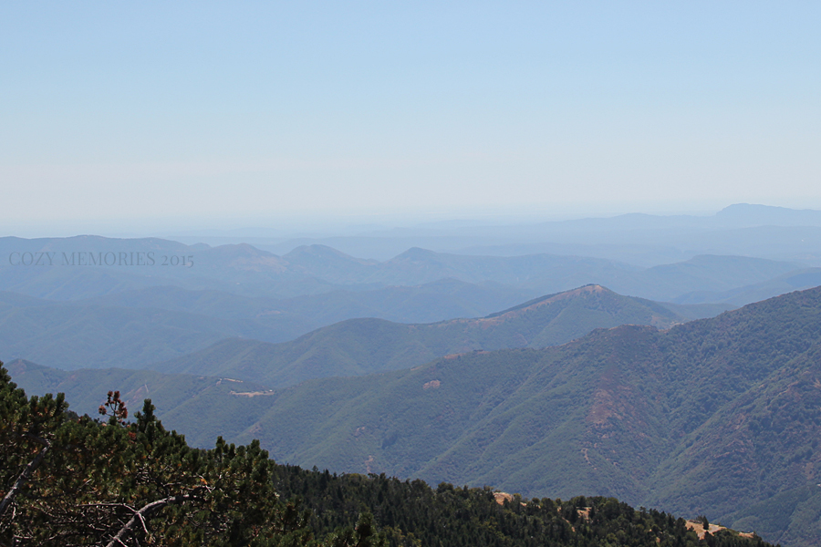 the breathtaking view from Mont Aigoual weather station