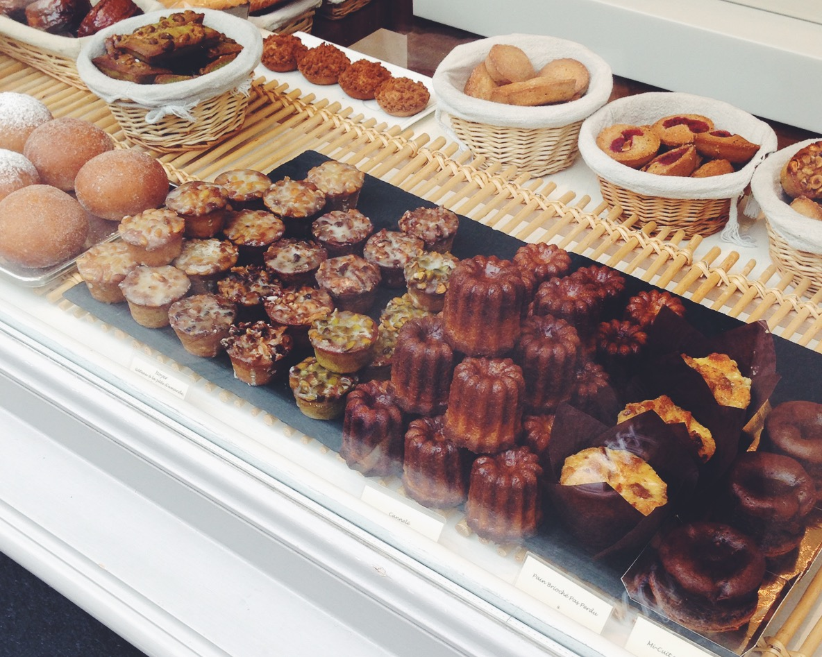 Delicious looking pastries from   Gilles Marchal'  s bakery (we didn't try but we promised ourselves to try, next time we'll be in Paris)