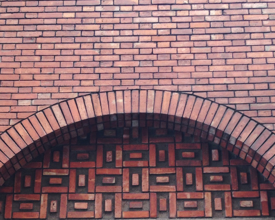 Brickworks, rue de Nevers (75006) near Notre Dame de Paris cathedral
