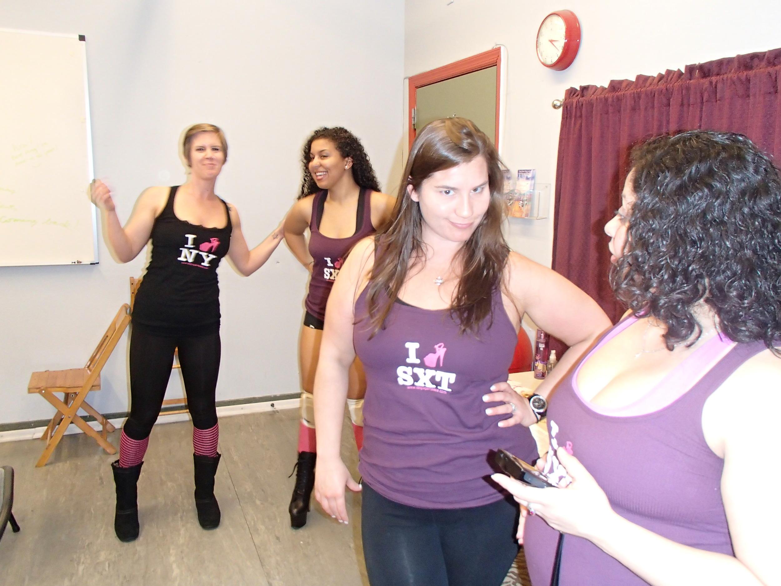Lap Dance Class Set Up