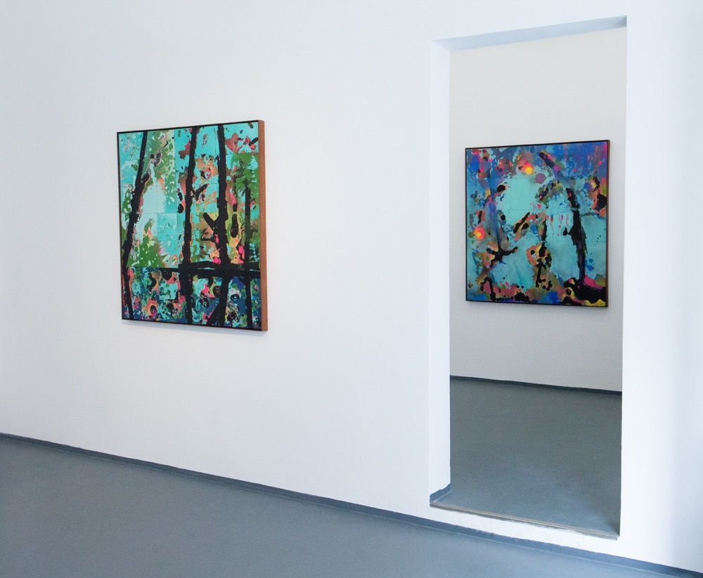Installation, Michael Reid Gallery Berlin