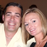 Lewis Thibeault and his wife.