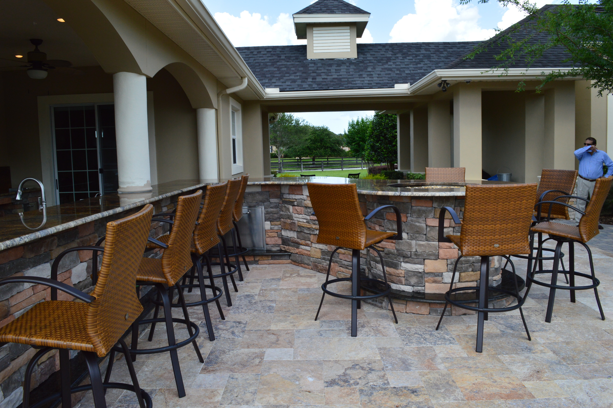 Outdoor Kitchen in Tampa