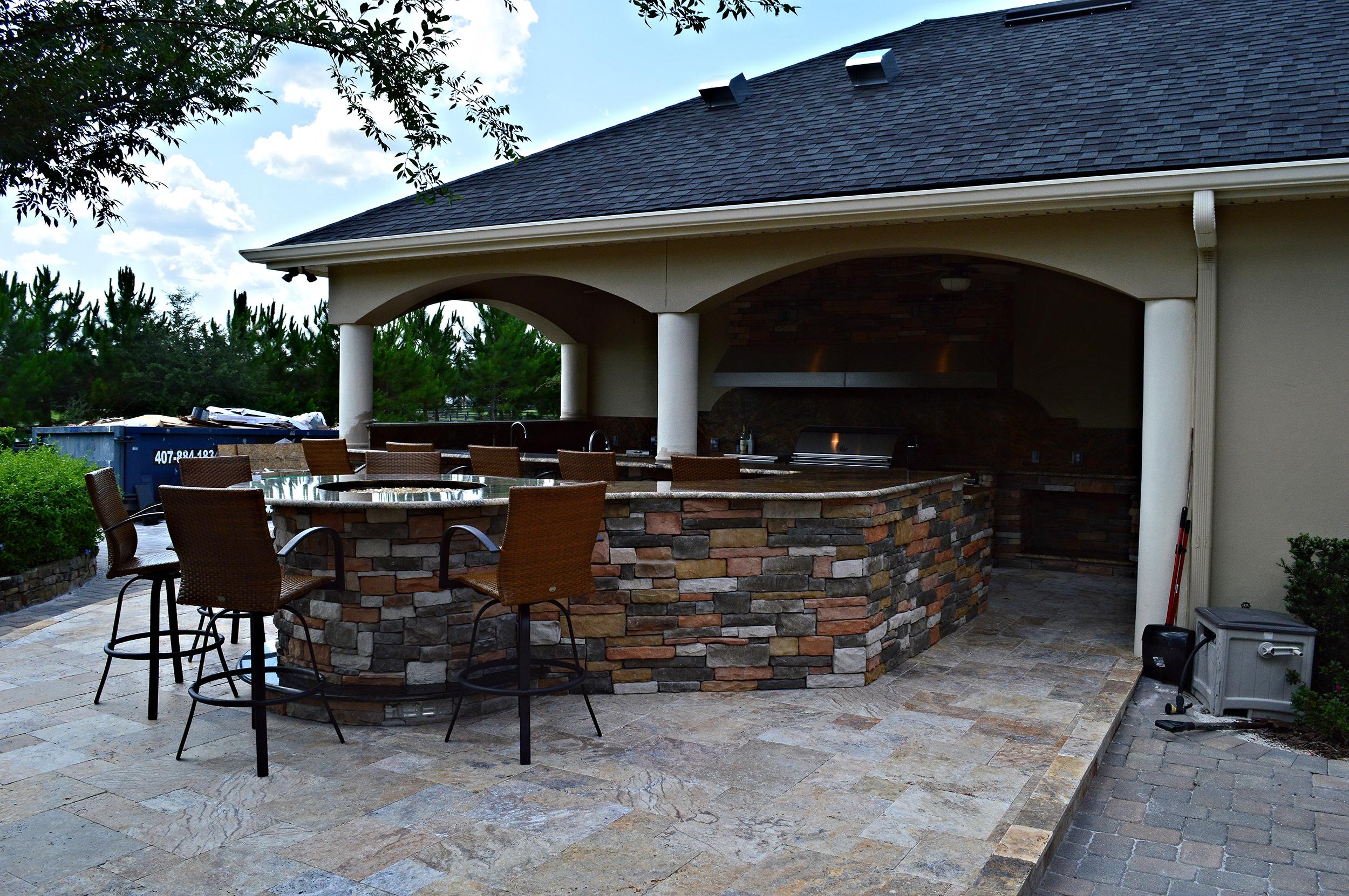 Outdoor Kitchen in Tampa, FL