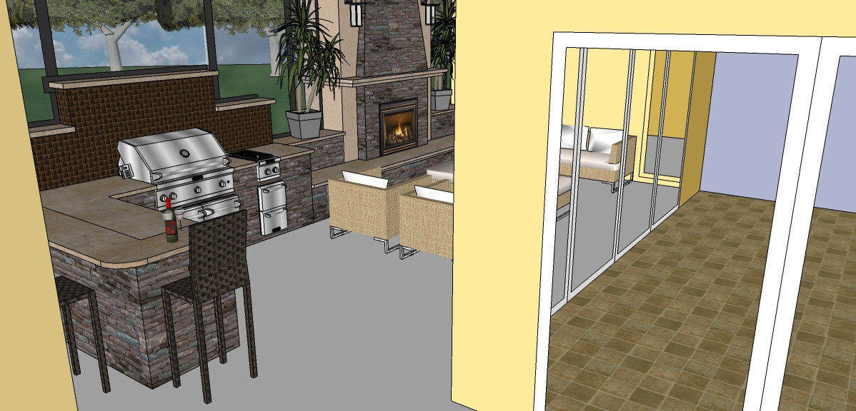 Outdoor Living Space Design2
