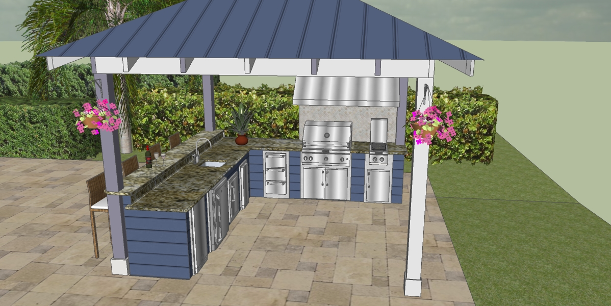 Outdoor Living Space Design 3