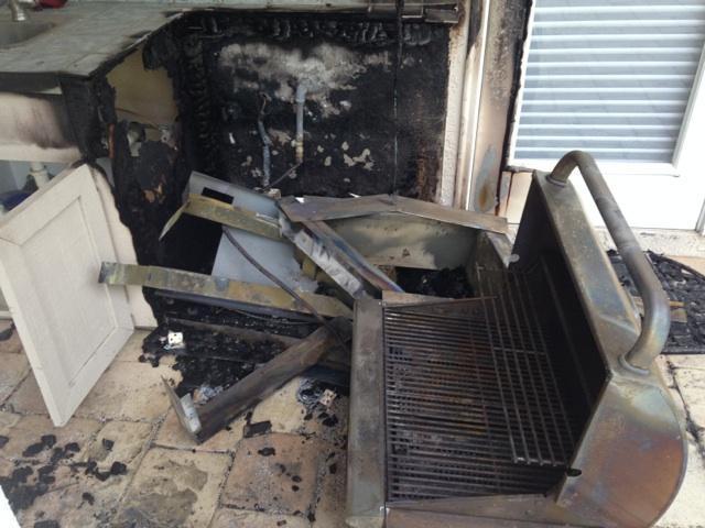 outdoor kitchen fire 2