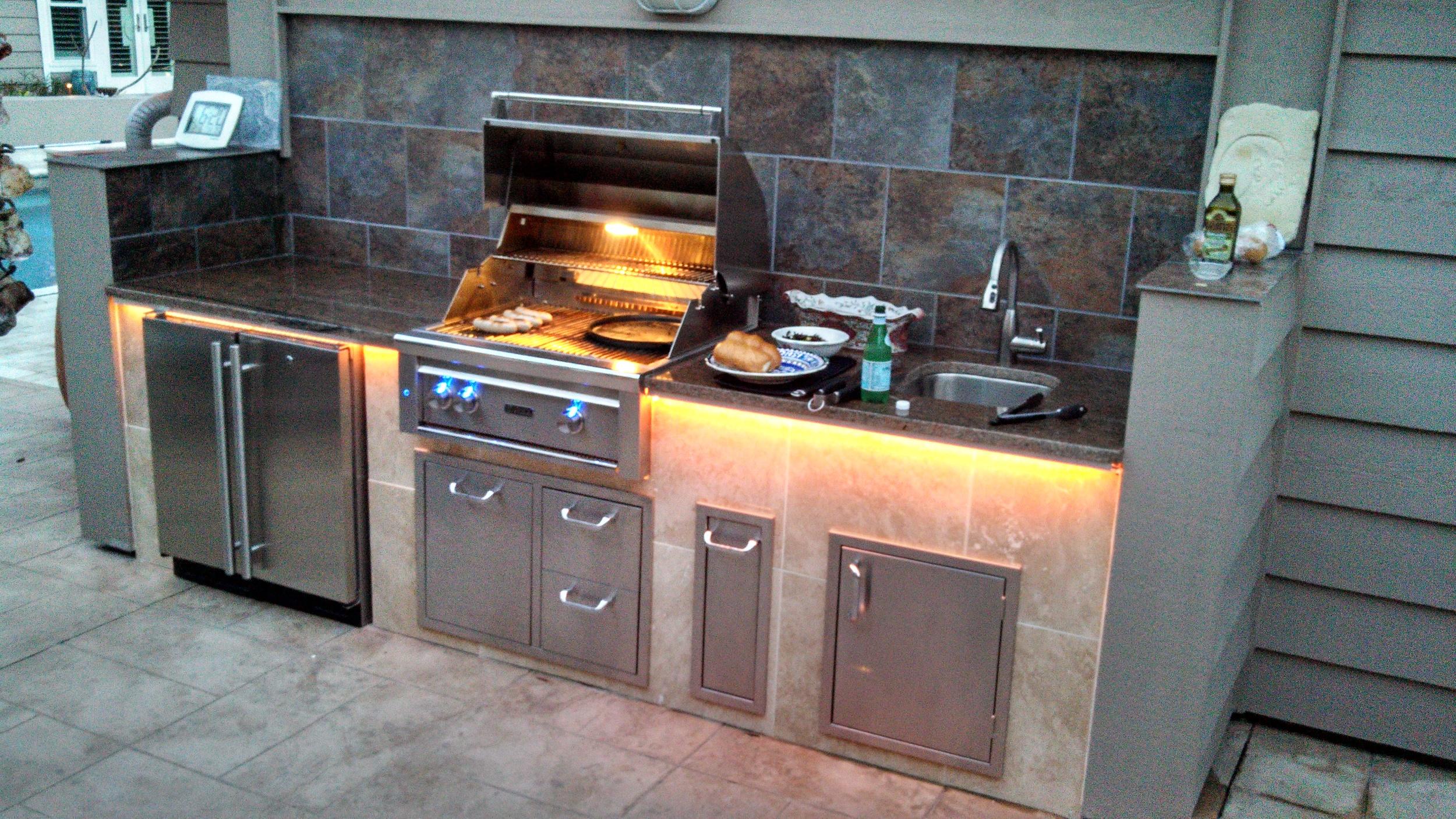 Simple Outdoor Kitchen Designs Premier Outdoor Living Design