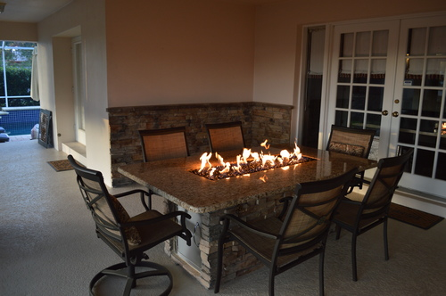 Outdoor Fireplace Fire Pits In Tampa, Leaders Outdoor Furniture Clearwater Florida