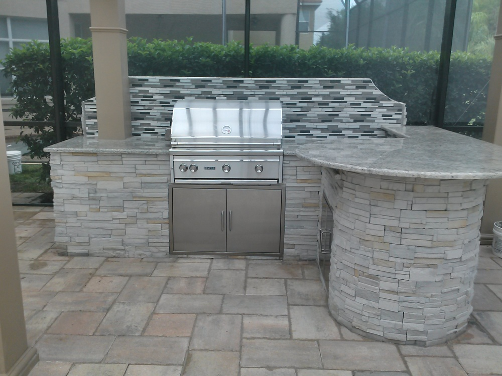 Outdoor Kitchens Tampa FL | Premier Outdoor Living & Design