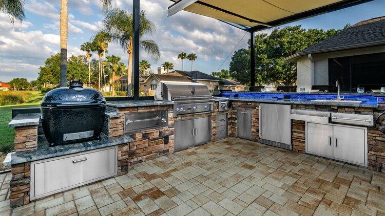 Premier Outdoor Kitchen Tampa Orlando, Outdoor Kitchen Contractors In Sarasota Fl
