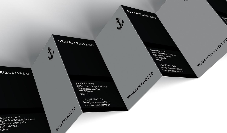 Stationery Visitenkarten Briefpapier Design Zürich You