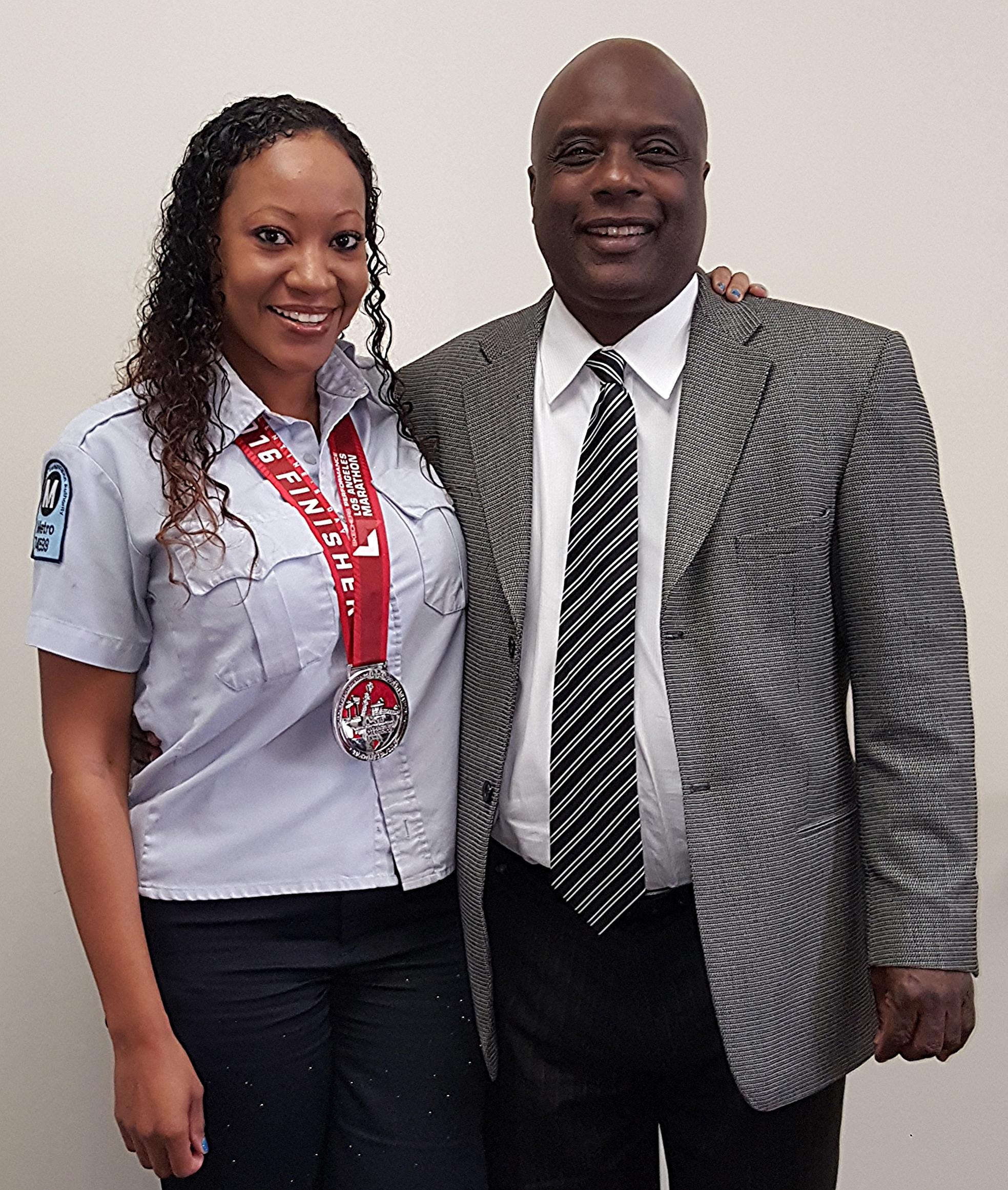 Congratulations to Naomi Smith for completing the 2016 LA Marathon.