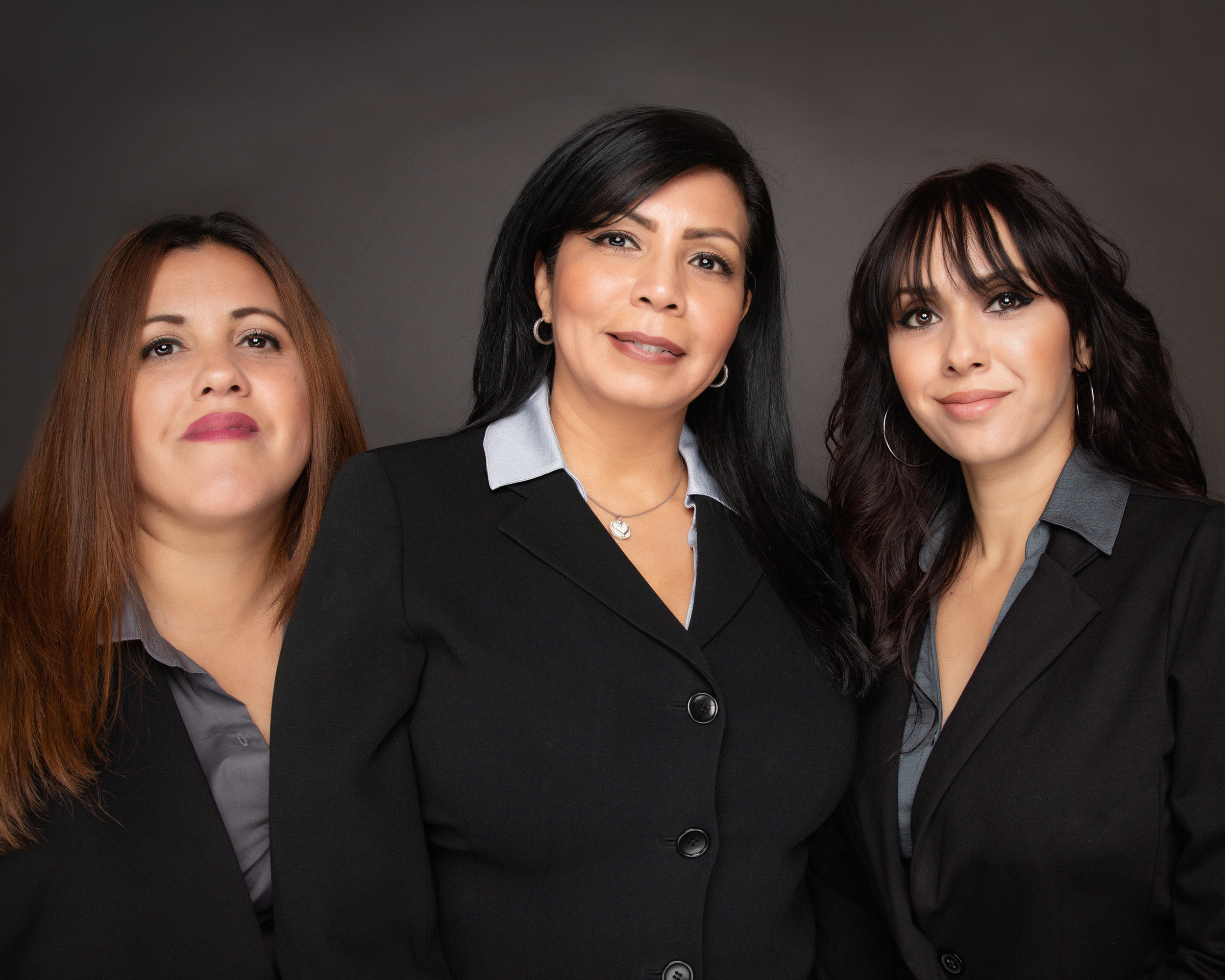 SMART office staff (left to right)  Rosana Santana, Executive Secretary to General Chairman  Maria Magallon, Operations Manager  Iveth Lopez, Administrative Assistant