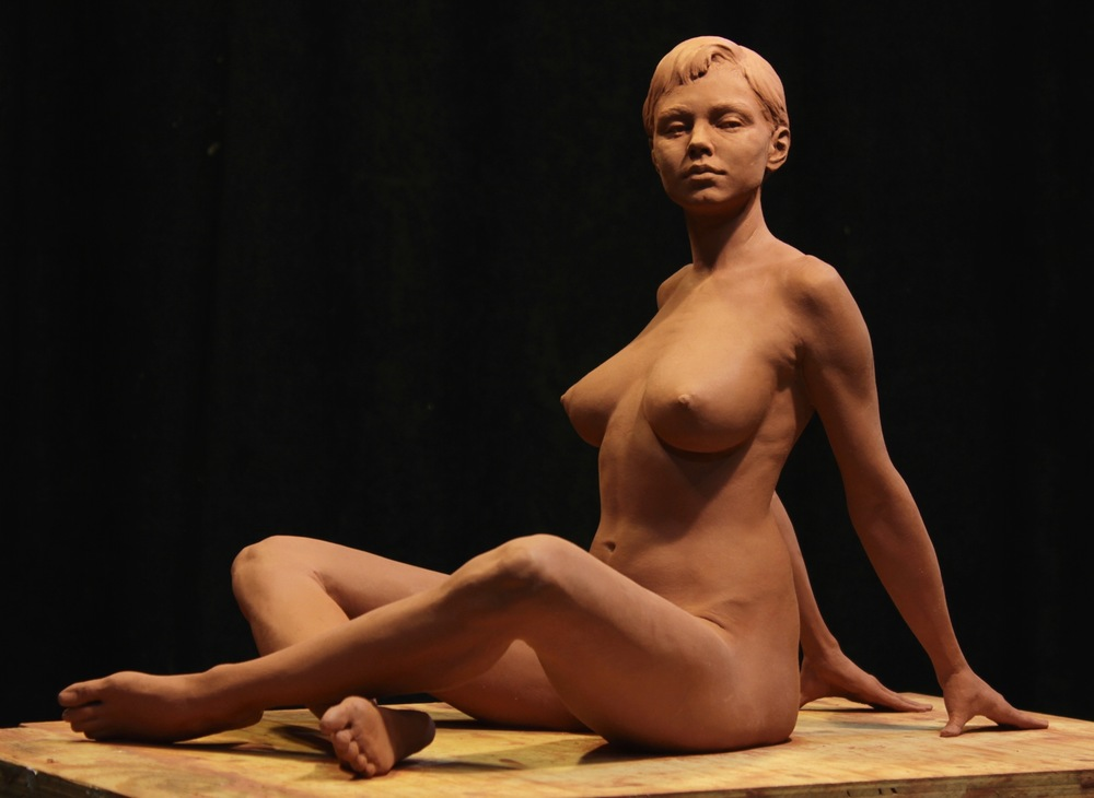 Kaitlyn, finished clay